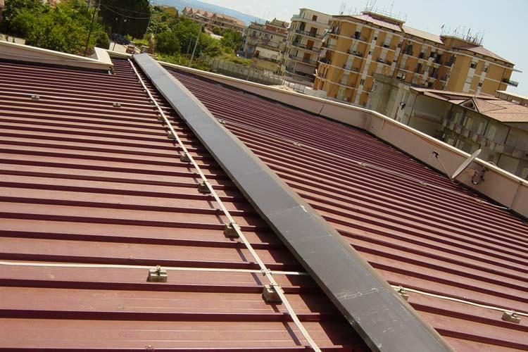 Realizzazione tetto Stazione Carabinieri Pizzo Calabro