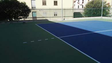 Ristrutturazione Scuola F. Fiorentino Lamezia Terme Palestra indoor e outdoor