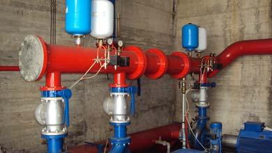 Impianto Antincendio e ristrutturazione impianto condizionamento Sacal Lamezia Terme
